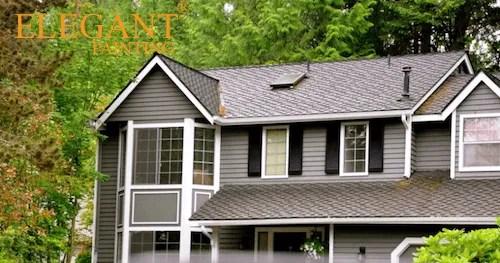 Gray exterior paint colors elegant painting - Most popular grey exterior paint ...