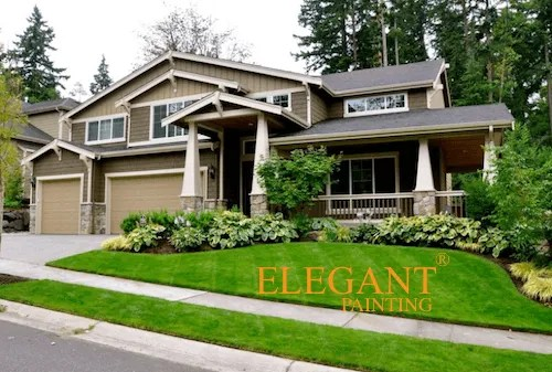 Cost of painting fiber cement siding house painting in sammamish bellevue redmond for Cost to paint exterior wood siding