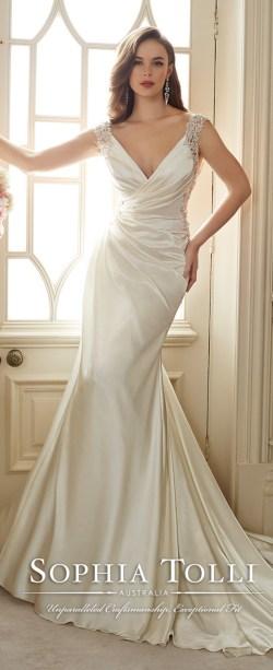 Small Of Satin Wedding Dresses