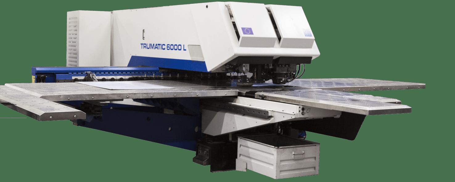 Wykrawarka laserowo - mechaniczna Trumpf