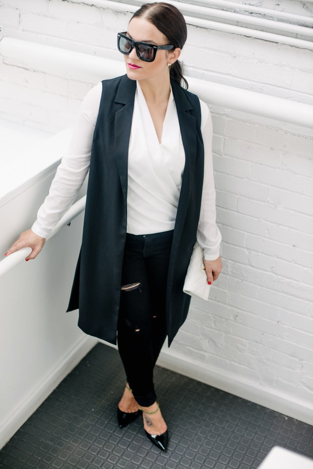 Black and White Office Wear