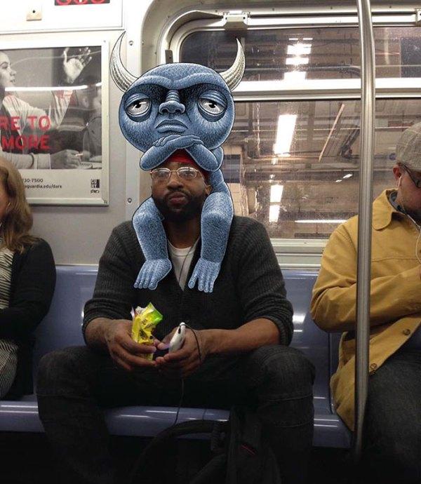 dibujos-monstruos-metro-nueva-york-ben-rubin-3