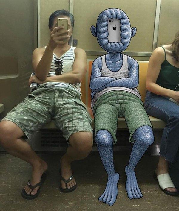 dibujos-monstruos-metro-nueva-york-ben-rubin-4