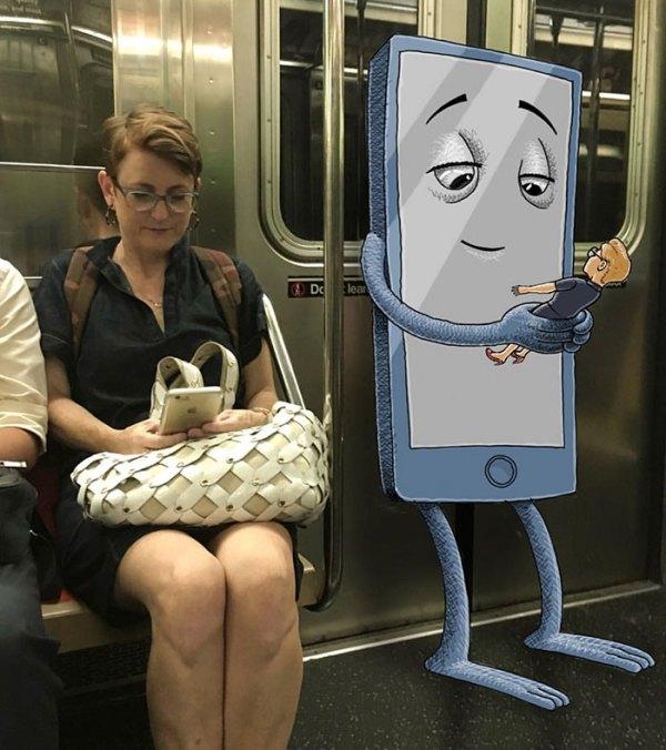 dibujos-monstruos-metro-nueva-york-ben-rubin-9