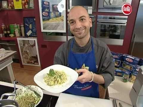 Mirko Caldino, Elfishing, pasta al pesto e… Barilla!
