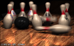 Renderman Bowling
