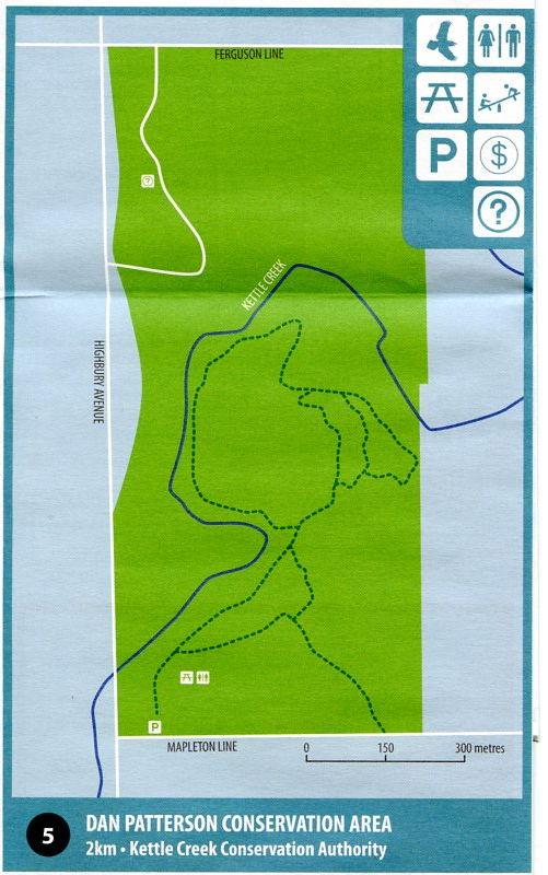 Map of Dan Patterson CA