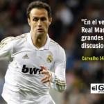 """Carvalho desvela un secreto del vestuario del Real Madrid en la """"época Mou"""""""