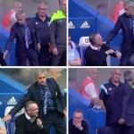 La mala educación de Mourinho es correspondida con su homologo en el Aston Villa