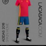 Así será la camiseta que lucirá la selección española en @laEurocopa de Francia (Foto)