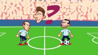 La parodia de Messi en la final de la Copa América