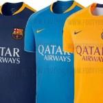 Filtran las camisetas de entrenamiento del Barça para la próxima temporada (Foto)