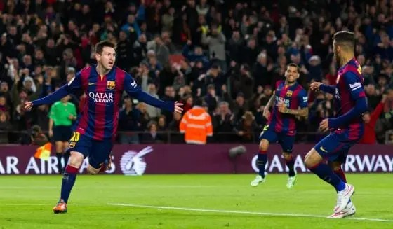 Messi bate el impresionante record de Puskas