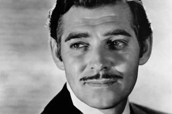 O ator Clark Gable foi um dos maiores galãs na história de Hollywood