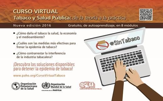 Curso virtual tabaco OPS