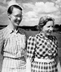 Elin och Flory Gate 1944