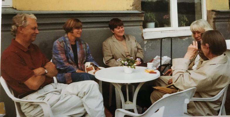 Per-Olof Swartz, Agneta Engman, Solveig Hammarbäck, Ruffa Alving, Flory Gate