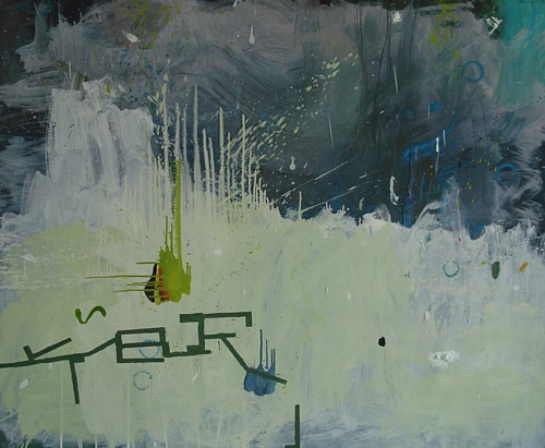 Feld, Öl auf Leinwand, 135 x 165 cm, 2009