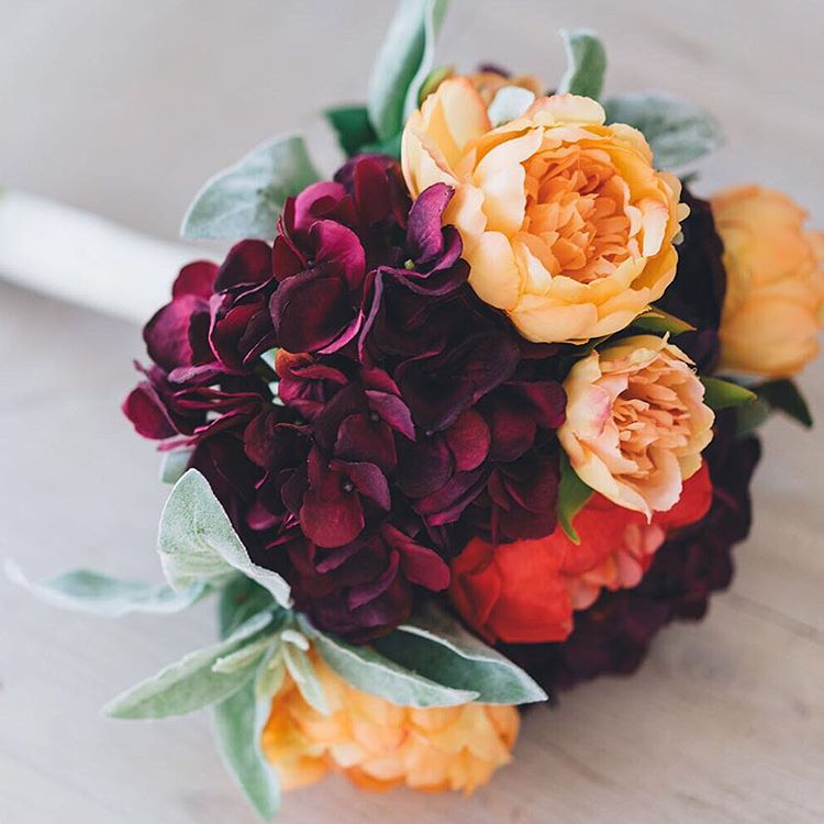 tbt that time I made my own wedding bouquet withhellip