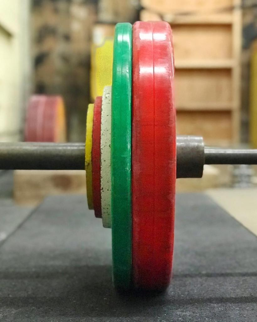 Christmas themed deadlifts tonight