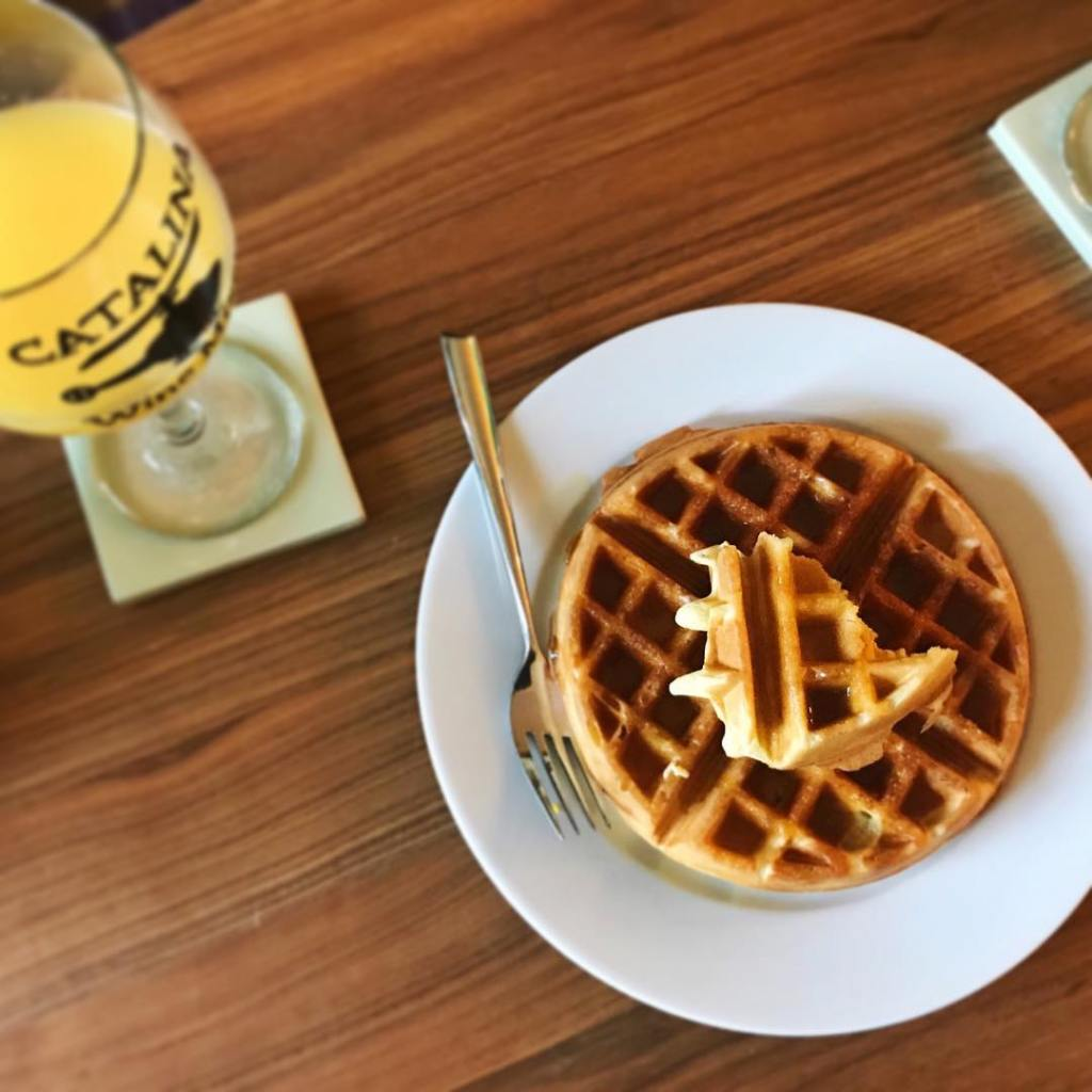 Champagne all day! New Years Eve waffle amp mimosa brunchhellip