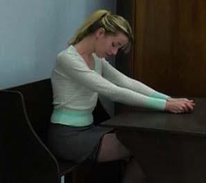 bare bottom spanking art