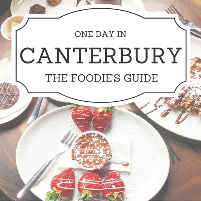 A FOODIE'S GUIDE TO ONE DAY IN