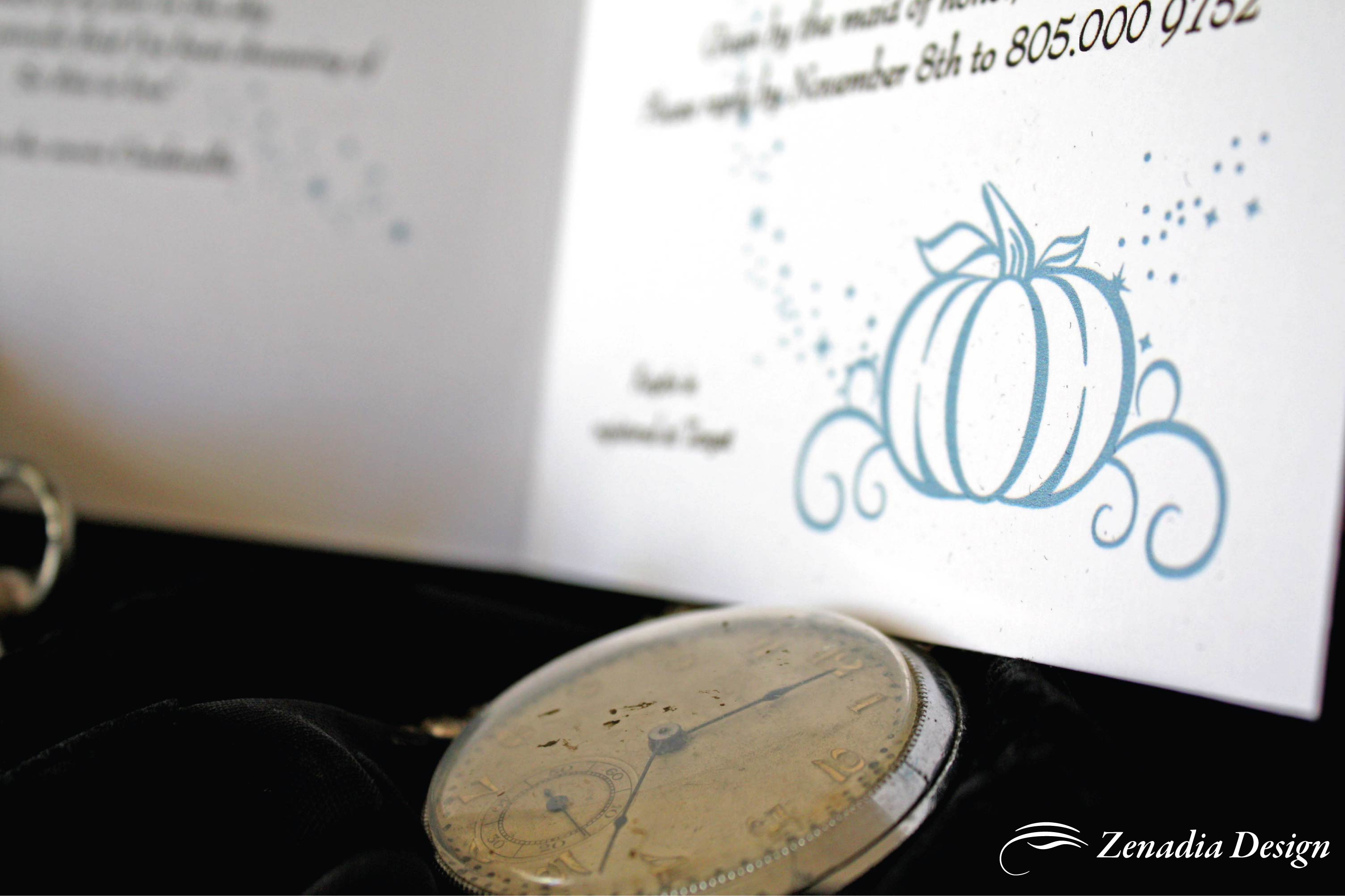 wedding invitations jannali cinderella wedding invitations Wedding Invitations Jannali New