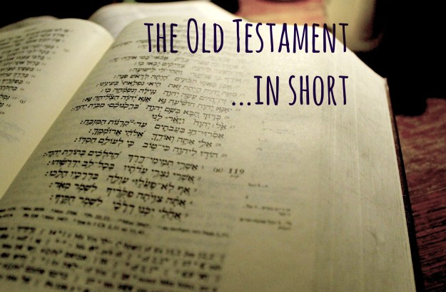 Old testament in short elizabeth cravillion