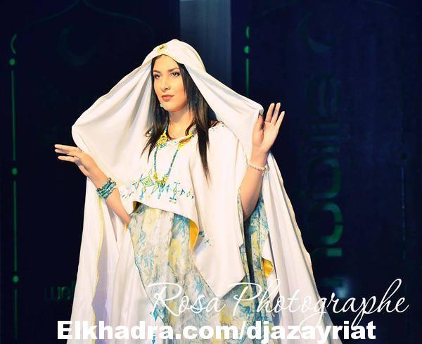 اللباس التقليدي الجزائري الشاوي 2016