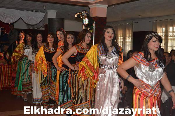 اللباس التقليدي الجزائري القبائلي 2016