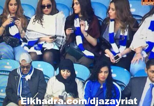 """صور المشجعات السعوديات في لندن بمدرجات """"مباراة السوبر"""" تثير جدلاً واسعاً"""