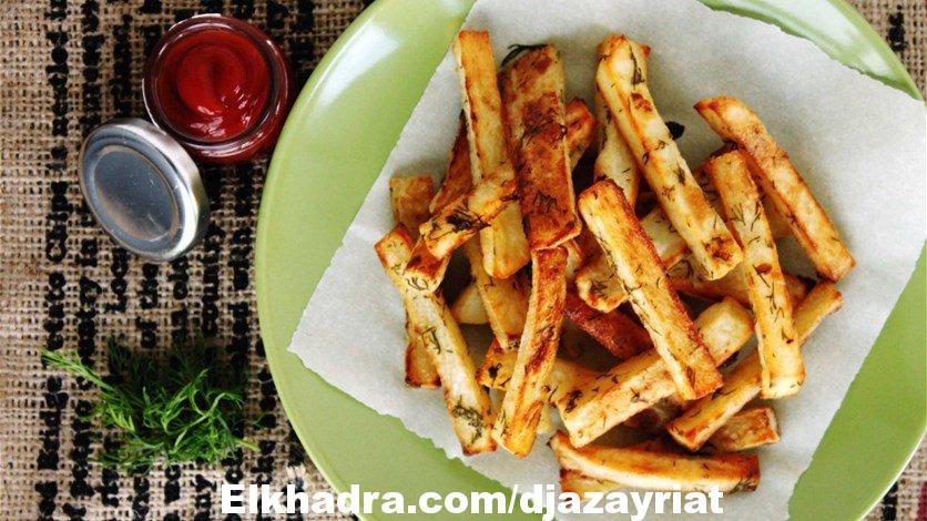 طريقة صحية لتحضير البطاطا المقرمشة