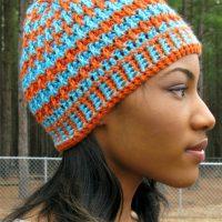 Morning Frost - A Free Crochet Hat Pattern