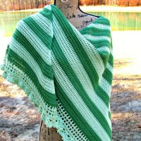 Perfectly Elegant Shawl!