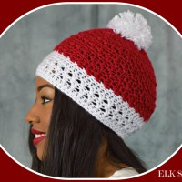 Peppermint Kisses Beanie by ELK Studio