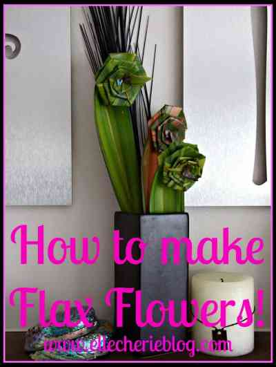 How to make Flax Flowers