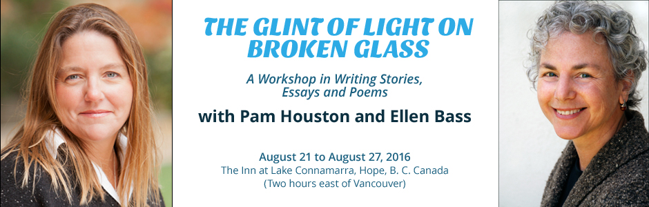 The Glint of Light on Broken Glass Workshop