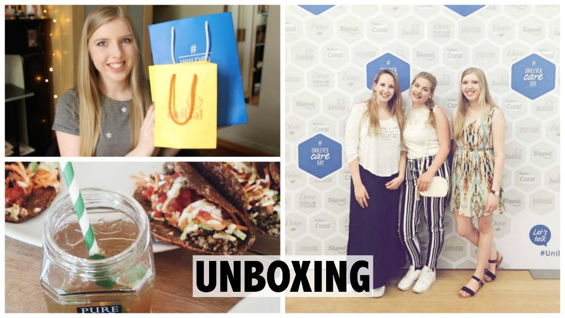 Unboxing goodiebag #unilevercareday
