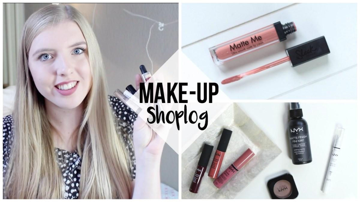 Make-up shoplog: Kruidvat, NYX, Sephora