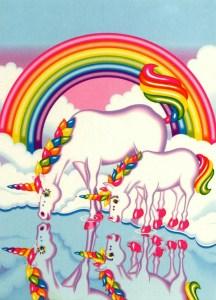 Unicorns Lisa Frank[1]