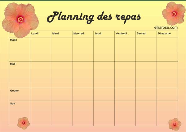 Planning Fleur Ellia Rose 1