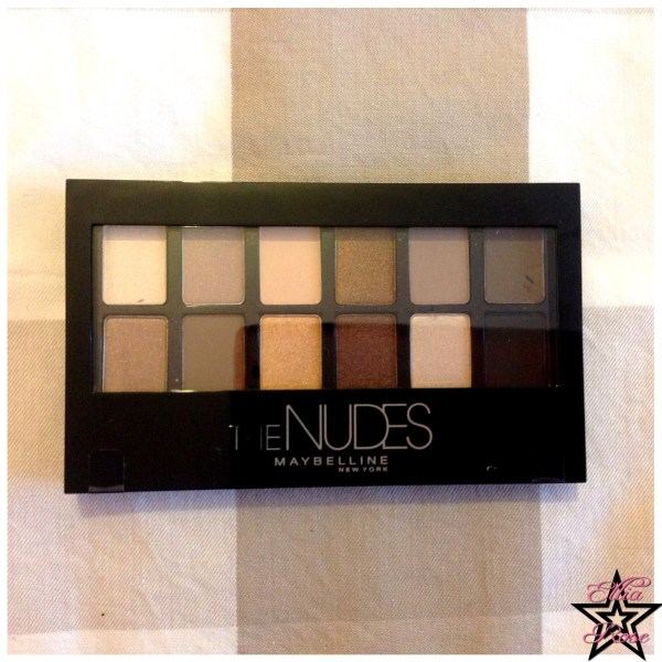 Palette The Nudes Maybelline (1)