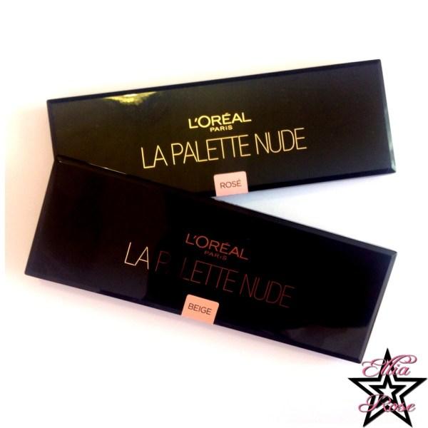 Palettes L'oréal Nude (1)