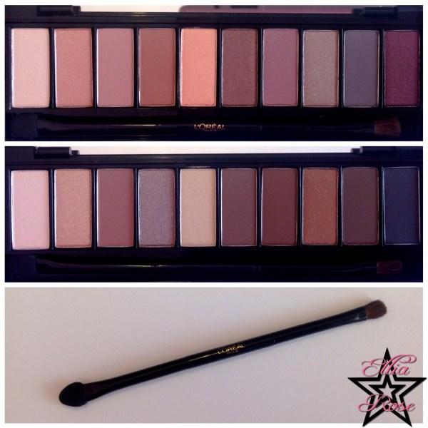Palettes L'oréal Nude (6)