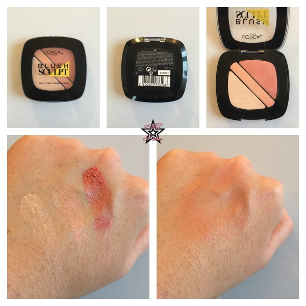 swatch blush infaillible sculpt