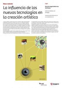 La influencia de las nuevas tecnologías en la creación artística