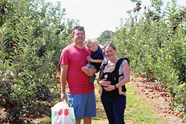 Apple Picking at Eckert's | Ellie And Addie