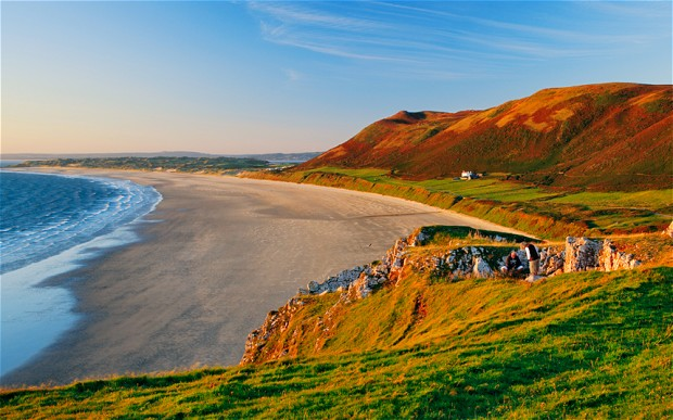 Rhossili Bay, south Wales