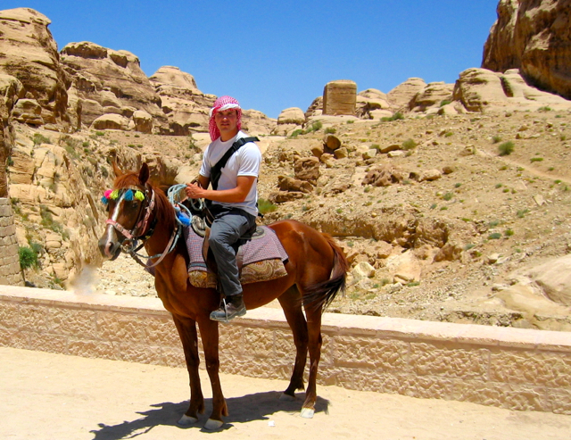 Adventures in Jordan during the year before vet school.